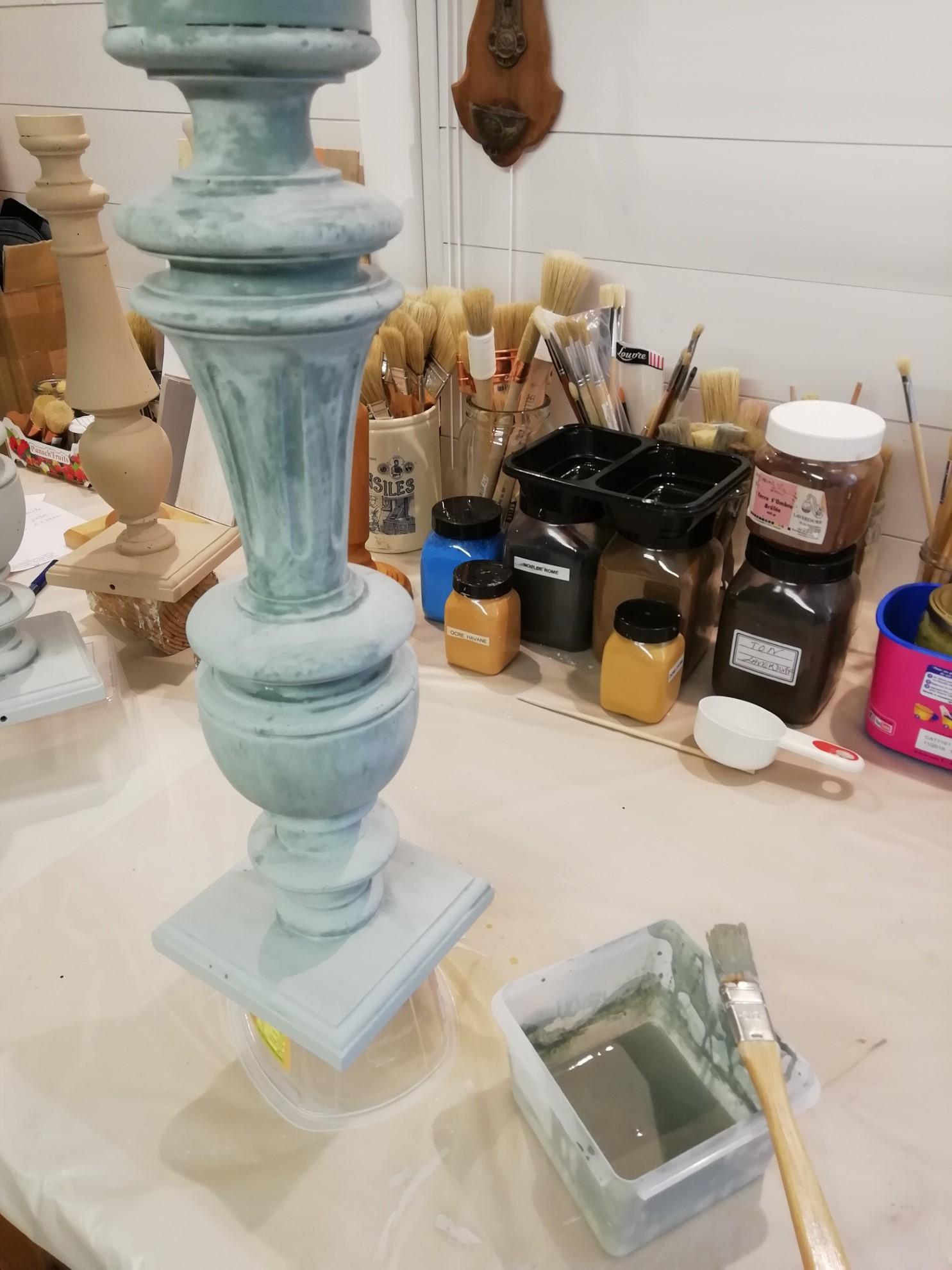 L'Atelier d'Apolline, Peintre décoratrice - Caseine